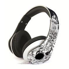 Musika Headphone (design by JP Cuison) Over Ear Headphones, Headset, Panda, Graphic Design, Music, Headphones, Musica, Headpieces, Musik