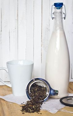 RARE TEA REPUBLIC LOOSE LEAF TEA ALMOND MILK RECIPE I am a tea lover but Rare Tea Republic is really something special…I used a Stainless Tea Infuser to steep RTR's Glenburn Second Flush Black Tea for about 5 mins. Then I added 1/4 cup homemade almond milk and a squeeze of liquid Stevia. Sip and enjoy!! It's pure heaven in a cup and such a lovely way to start the day!    I've never tasted anything like it! When they say delicious and unique, they mean it!!
