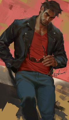 I just can't control my hands … Dream Daddy Game, Dream Daddy Fanart, Character Concept, Character Art, Concept Art, Character Design, Art Of Man, Guy Drawing, Gay Art