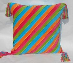 Kids rooms Stripe Velvet Euro Sham