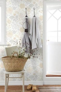 The home of bold & beautiful wallpaper in Australia. Shop over 9000 designs. French Nursery, Traditional Looks, Nursery Inspiration, Flower Patterns, Colours, Interior Design, Elegant, Wallpaper, Room