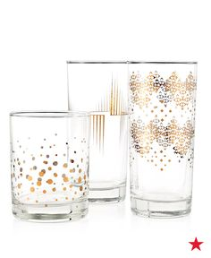 With vintage-inspired metal accents, Luminarc's Copper Drinkware Collection offers a unique & classic appeal to your tablescape. Shop your fave design at macys.com!