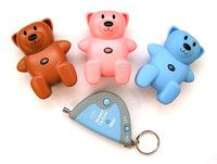 An adorable locator device that serves an important practical purpose as a personal safety alarm for a child.