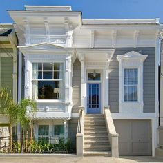 Noe Valley Three - Traditional - Exterior - San Francisco - Amoroso Design