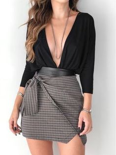 ♥ 78 date night outfits that turn up the heat 1 Trendy Fall Outfits, Classy Outfits, Stylish Outfits, Beautiful Outfits, Fancy Casual Outfits, Sexy Outfits, Mode Swag, Mode Ootd, Pinterest Fashion