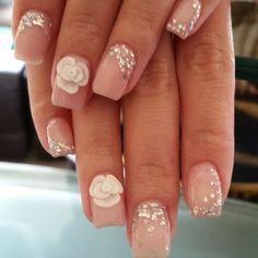 . Red Rose Wedding, Wedding Nails, Red Roses, Beauty, Google, Weddings, Wedding Nail, Beauty Illustration, Bridal Nails