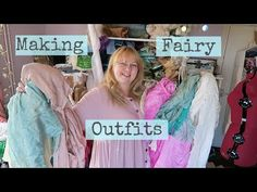 (26) Making fairy outfits with hand-dyed & naturally dyed silk and cotton - YouTube Fairy Clothes, When I Grow Up, Cami Tops, My Outfit, Fairy Outfits, Growing Up, Boho Fashion, Fairy Tales, My Etsy Shop