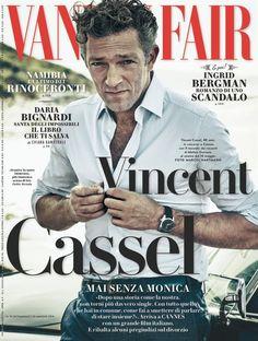 Vincent Cassel for Vanity Fair Italia, May 2015 Vincent Cassel, Vanity Fair Italia, Vanity Fair Magazine, Ingrid Bergman, Monica Bellucci, Digital Magazine, Scandal, Cannes, Fashion Editorials