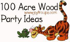 Winnie the Pooh Party Ideas plus free printable