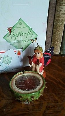 Butterfly Fairies by Country Artists AUTUMN AURORA VOTIVE
