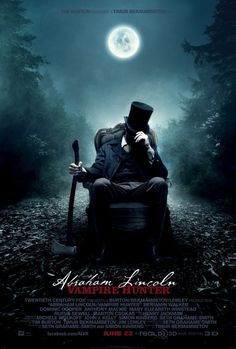 Abraham Lincoln: Vampire Hunter, reading this now and eagerly awaiting the movie!