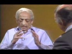 Jiddu Krishnamurti Interviewed On Being Hurt & Hurting Others.........  <3