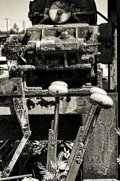 Controls to a machine Photograph