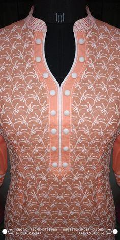 Chudi Neck Designs, Neck Designs For Suits, Sleeves Designs For Dresses, Neckline Designs, Dress Neck Designs, Salwar Suit Neck Designs, Kurta Neck Design, Salwar Designs, Kurta Designs Women