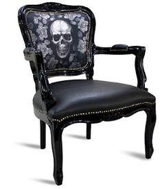 Decor I love for Jody Diamond - Skull chair