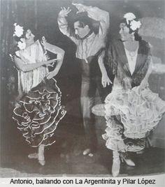 ANTONIO DE TRIANA - BAILAORES/AS - El Arte de Vivir el Flamenco