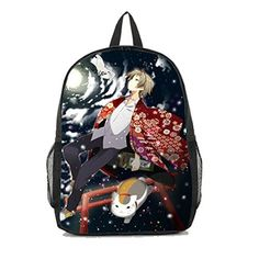 Dreamcosplay Anime Natsume Yuujinchou Takashi Backpack Student Bag Cosplay *** Check out the image by visiting the link.