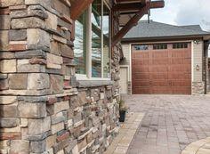 Mason's Choice - Chantilly Stone Gallery, Manufactured Stone, House Yard, Yard Ideas, Architecture Design, Choices, Mountain, Patio Ideas, Architecture Layout
