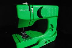 Shamrock Green John Lewis Sewing Machine