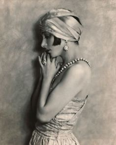 Tiffany diamonds were the screen darlings of the Jazz Age. Here, starlet Fania Marinoff (circa 1923) demonstrates that nothing burns brighter in black and white