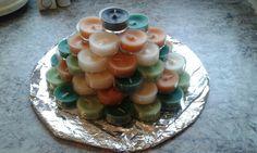 Kerzen Torte Pudding, Cake, Desserts, Food, Candles, Tailgate Desserts, Deserts, Custard Pudding, Kuchen