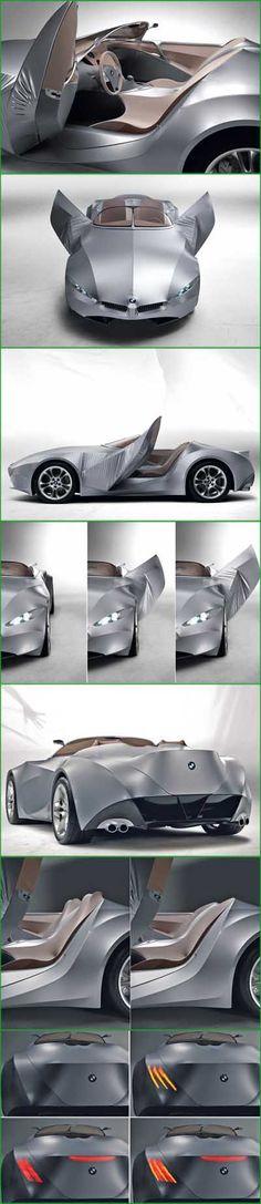 BMW GINA: l'auto di tessuto