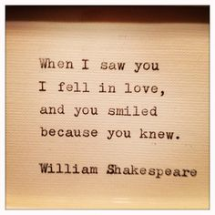 William Shakespeare--going to sew this on a pillow for my honey!!!