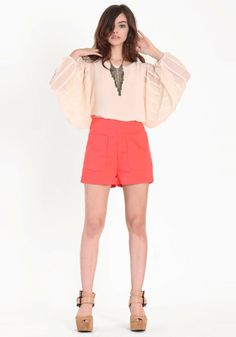 Love the color of these shorts!