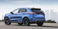 The 2019 Ford Edge ST debuts at the Detroit Auto Show next week and hits showrooms this summer. Here's what we know about the new Edge so far. Ford Edge, Performance Auto Parts, General Motors, Automobile, Detroit Auto Show, First Drive, 2019 Ford, Ford Rs, Boats