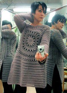 Letras e Artes da Lalá: Blusas de crochê SEM receitas (fotos: google)