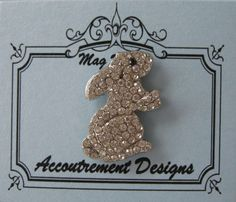 Accoutrement Designs Bunny Rabbit Easter Needle Minder Magnet Pin Mag Friends #AccoutrementDesigns