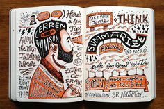 Learn how to create super cool sketchnotes step by step  http://crtv.mk/dNJZ  #graphicdesign #illustration #print