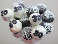 Man 30th Birthday Gift Ideas   April also created these 30th Birthday Cake Pops , which can be a ...