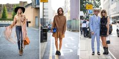 LONDON FASHION WEEK 09/2014  STREET STYLE