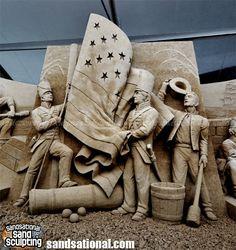 Sandsational Sand Sculpting | Flickr - Photo Sharing! Snow Sculptures, Sculpture Art, Ice Art, Snow Art, Rail Car, Art Festival, Sculpting, Sands, Pittsburgh