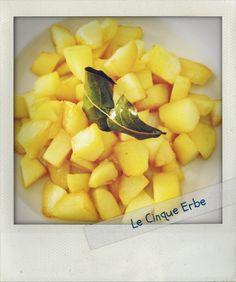 LE CINQUE ERBE: Le patatine della nonna Spezia