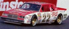 Miller Buick driven by Bobby Allison in the 1985 season. Use Monogram Buick kit for donor Nascar Race Cars, Old Race Cars, Dale Earnhardt Crash, Old Hot Rods, Chevy Chevelle Ss, Dirt Racing, Vintage Race Car, Car Photos, Buick