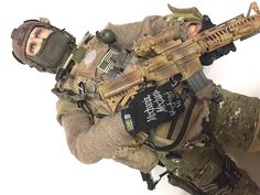 "1/6 Scale Custom Navy Seal Devgru for 12"" action figure #Unbranded"