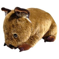 Wayne the Wombat is a gigantic plush toy for kids. Over half a metre long and machine washable.