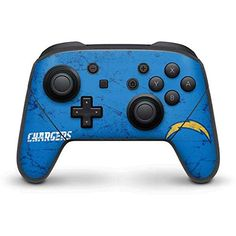 NFL Los Angeles Chargers Nintendo Switch Pro Controller Skin - Los Angeles Chargers - Alternate Distressed Vinyl Decal Skin For Your Switch Pro Controller  https://allstarsportsfan.com/product/nfl-los-angeles-chargers-nintendo-switch-pro-controller-skin-los-angeles-chargers-alternate-distressed-vinyl-decal-skin-for-your-switch-pro-controller/  Ultra-Thin, Lightweight Nintendo Switch Pro Controller Vinyl Decal Protection Offically Licensed NFL Design Industry Leading Vivid Col