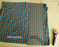 How to Sew a Memory Pillow Out of Shirts - JMB Handmade