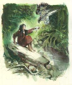 Shelena par René Follet - Illustration