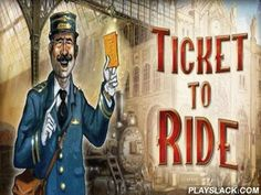 Ticket To Ride  Android Game - playslack.com , an extraordinary board game. moved  best path for trains connecting those municipalities among themselves, which defamations you learn at the beginning of the game. strive to moved  the agelong path, to attain more scores, but remember that your competitor can block your path.