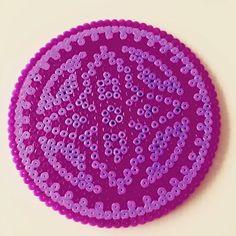 Coaster hama beads by sarah_loose_1991