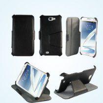 d1652f50af Bear Motion Premium Polio Case for Samsung Galaxy Note 2 Note II N7100 (Tri  Black