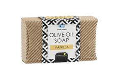 Mini welle 85gr.Greek Horizons Quality products Olive Oil Soap, Mini, Vanilla, Waves