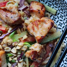 Thai Noodle Salad, Thai Noodles, New Recipes, Dinner Recipes, Whole Turkey, Grilled Turkey, Grilled Veggies, Turkey Dishes, Christmas Cooking