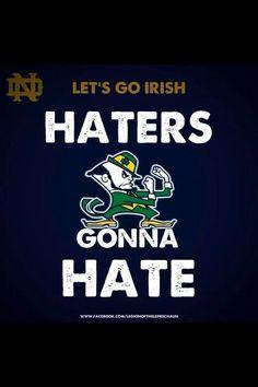 Lets Go Irish!!