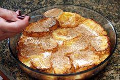 Rabanada de leite de coco Portuguese Desserts, Portuguese Recipes, Portuguese Food, Sweet Recipes, Cake Recipes, Dessert Recipes, Red Rice Recipe, Fries In The Oven, How Sweet Eats