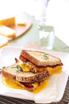Great Ideas for fall, Halloween and home decor and recipes | TidyMom  Grilled Cheese with bacon